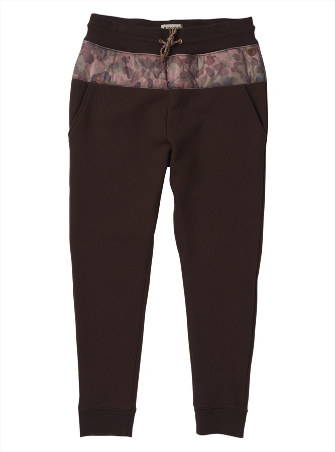 Burton Womens Moonbase Women's Jogger Pants, S Moss Camo/Black Coffee