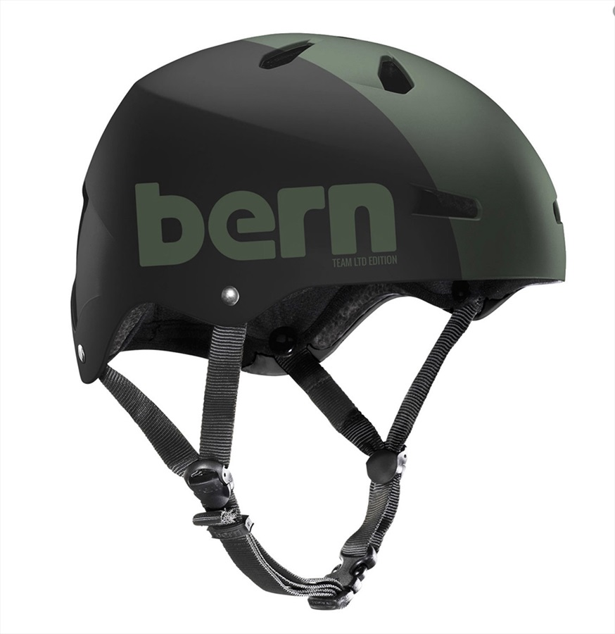 Bern Macon H2O Watersports Helmet, S Army Green Ltd. 2019