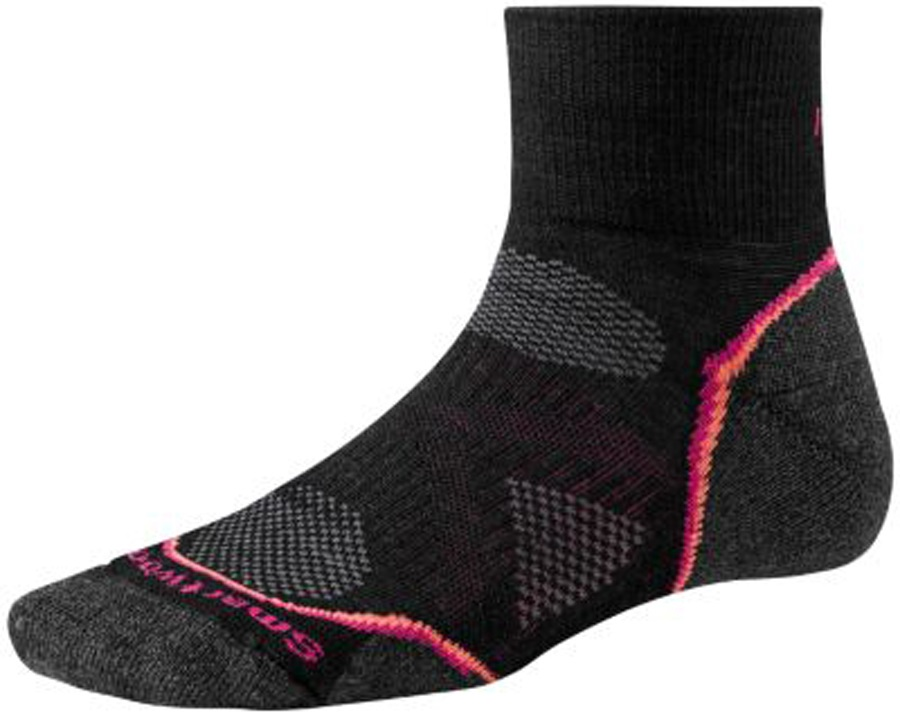 Smartwool PhD Run Light Mini Women's Running Socks 2-4.5 Black