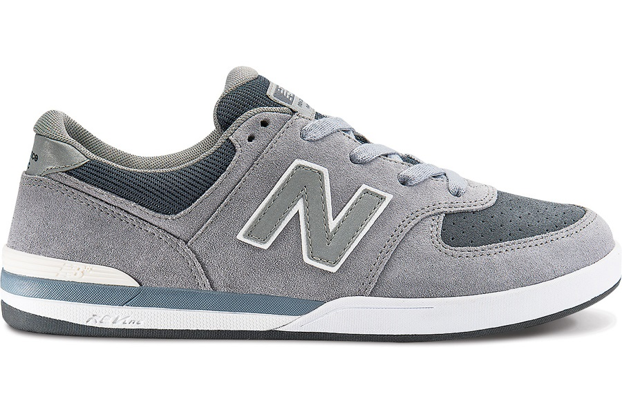 New Balance Numeric Logan S 636 Skate Shoes UK 9 Steel Suede