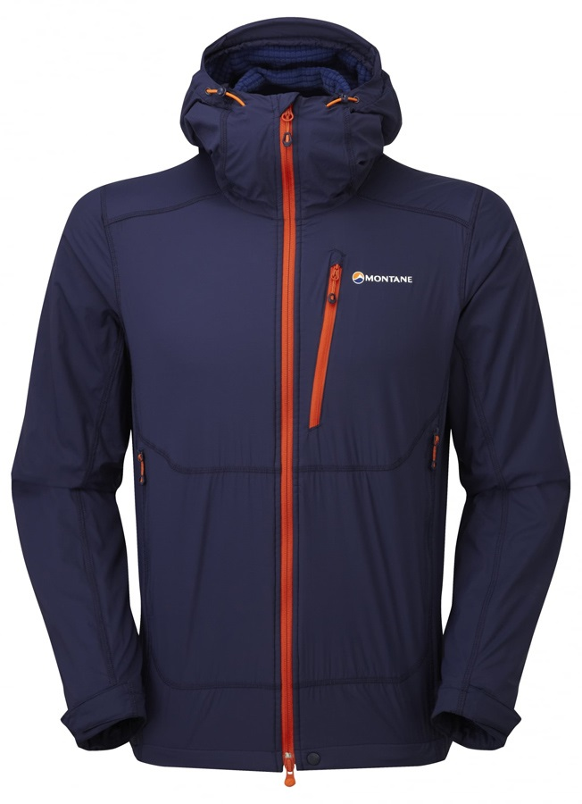 Montane Alpine Equaliser Men's Softshell Jacket S Antarctic Blue