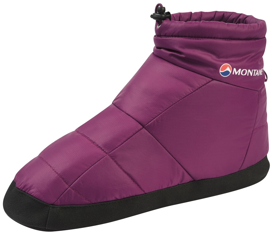 Montane Prism Bootie Insulated Camping Slippers, S Dahlia