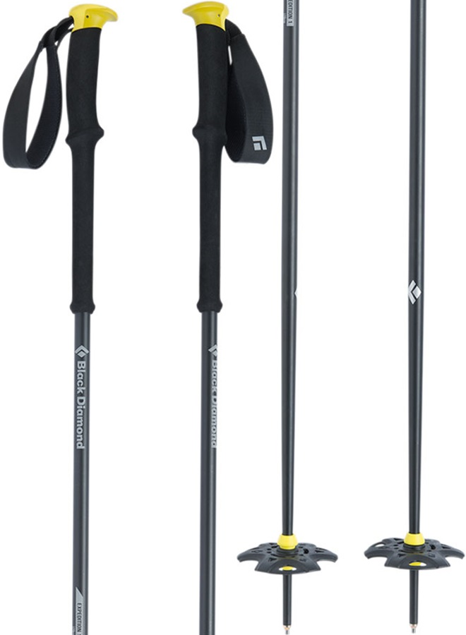 Black Diamond Expedition 1 Ski Poles, 115cm