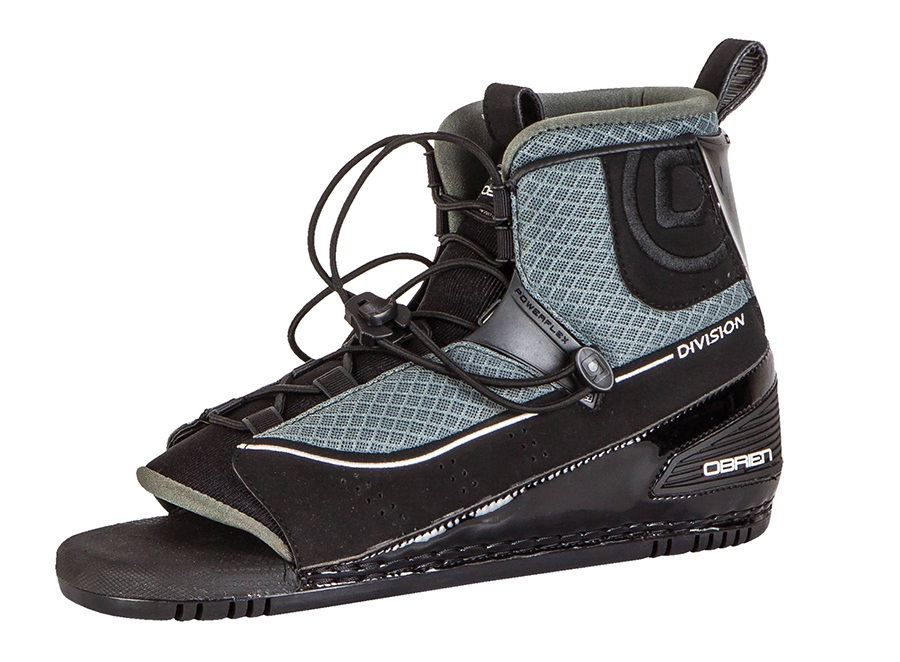 O'Brien Division Front Waterski Binding, UK 9-11 Black 2019