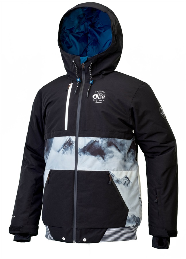 Picture Panel Ski/Snowboard Jacket, L Print 2019