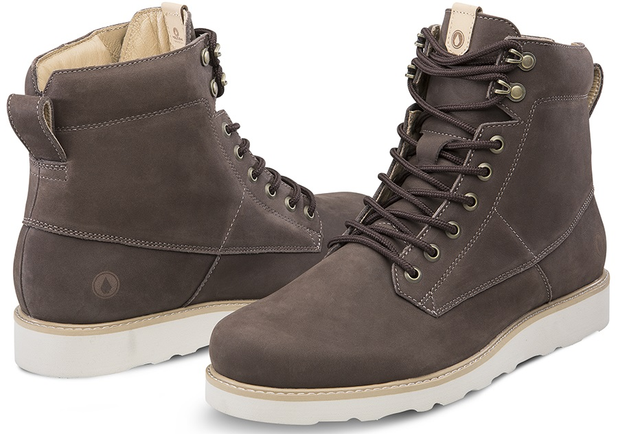 Volcom Smithington II Men's Winter Boots, UK 5.5 Coffee