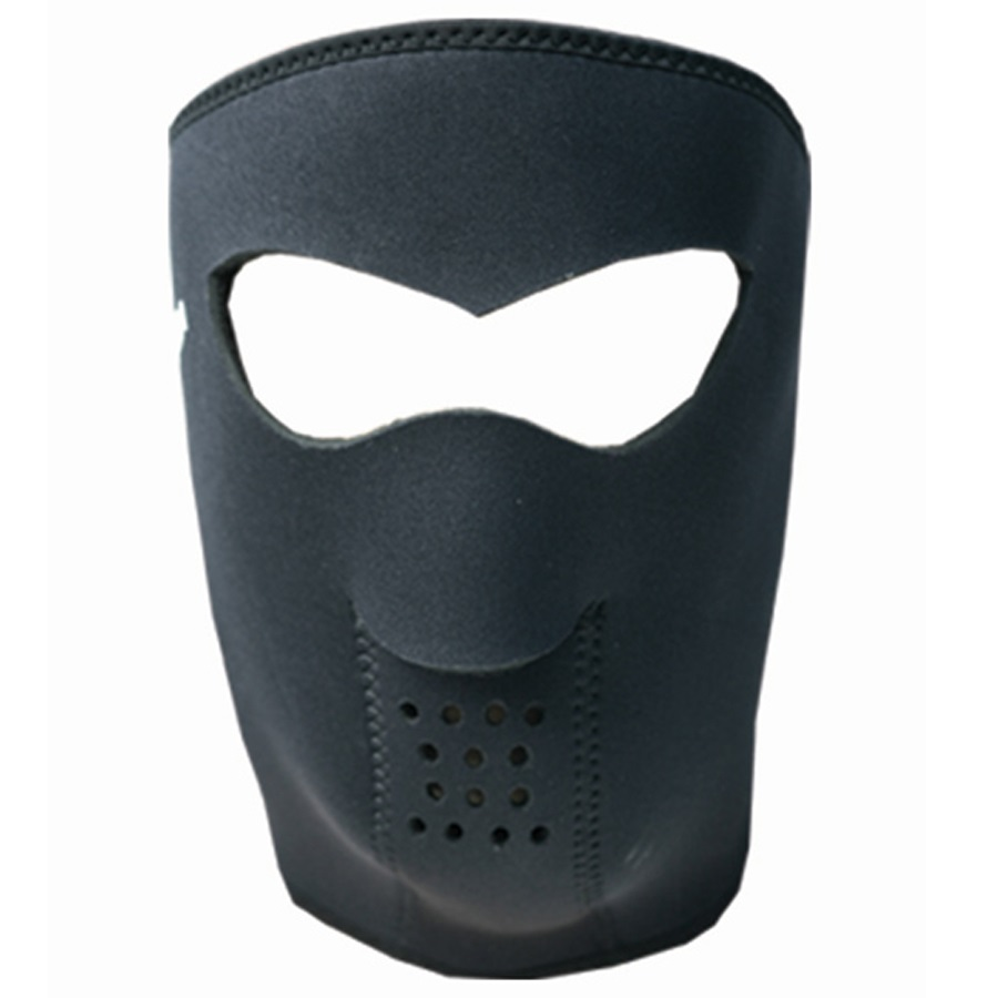 Demon Head Guard DS5107 Snowboard/Ski Face Mask, Small, Black