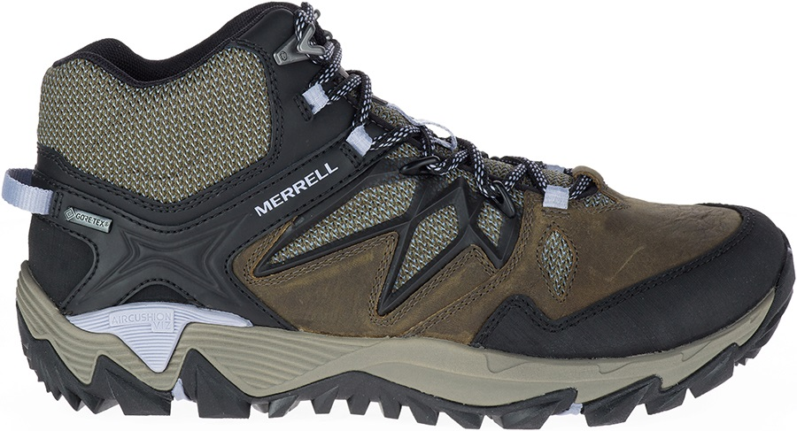 Merrell All Out Blaze 2 Mid Gore-Tex Hiking Boots, UK 5 Dark Olive