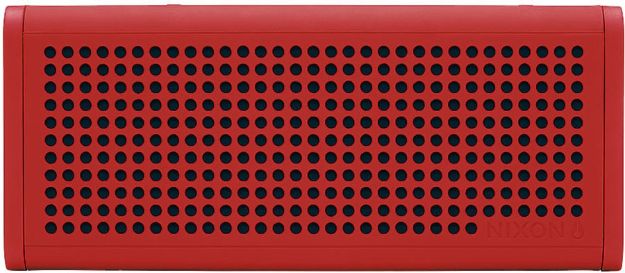 Nixon Blaster Pro Portable Bluetooth Speaker Red