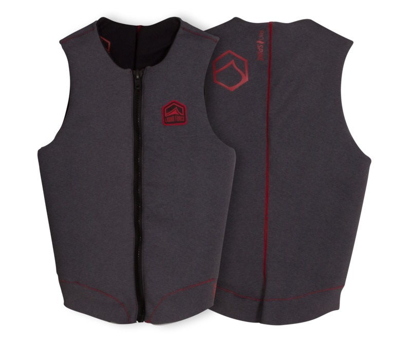 Liquid Force Enigma Comp Impact Vest, L Heather Red