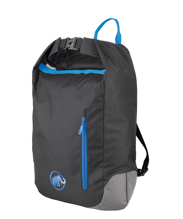 Mammut Zephir Rock Climbing Rope Bag One Size Black/Blue