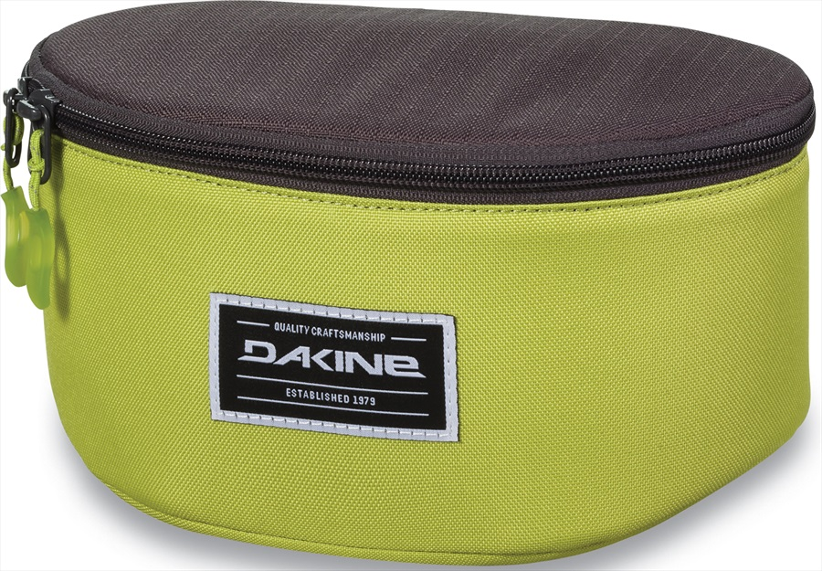 bd71bbc77e1 Dakine Stash Goggle Case Bag, Dark Citron