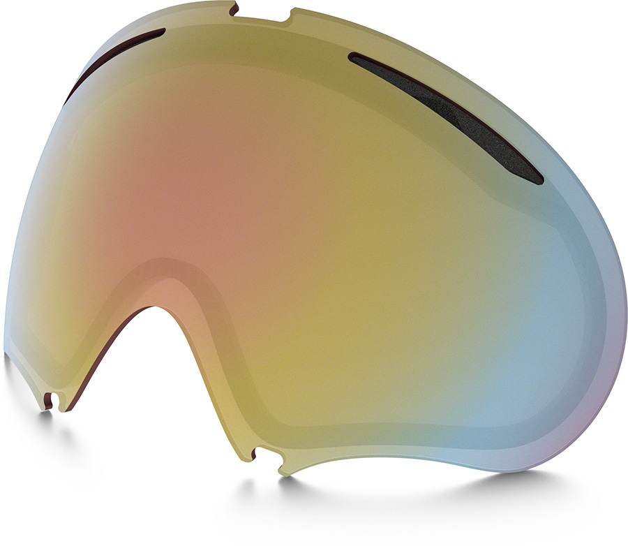 Oakley A Frame 2.0 Snowboard/Ski Goggle Spare Lens, VR50 Pink Iridium