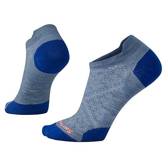 Smartwool PhD Run Ultra Light Micro Running Socks, S Blue Steel