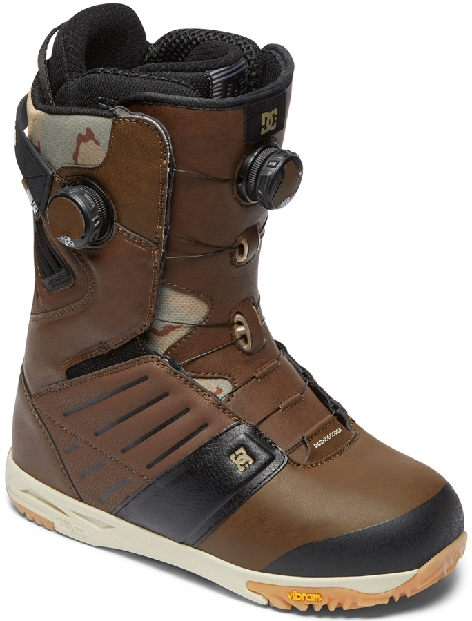 DC Judge Boa Snowboard Boots, UK 9 Brown 2019