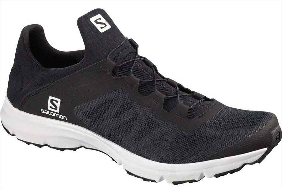 Salomon Amphib Bold Men's Running Shoe, UK 11 Black/Black/White