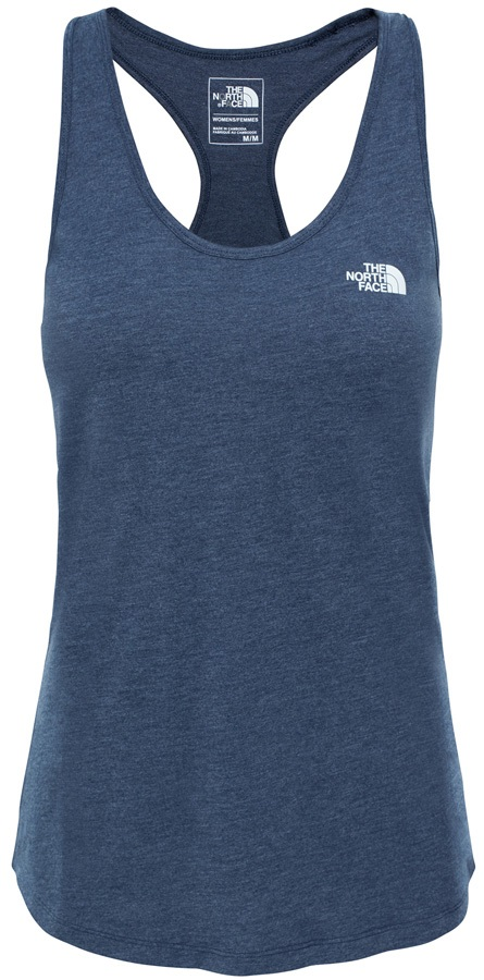 The North Face Play Hard Tank Sport/Yoga Vest, UK10 Urban Navy Heather