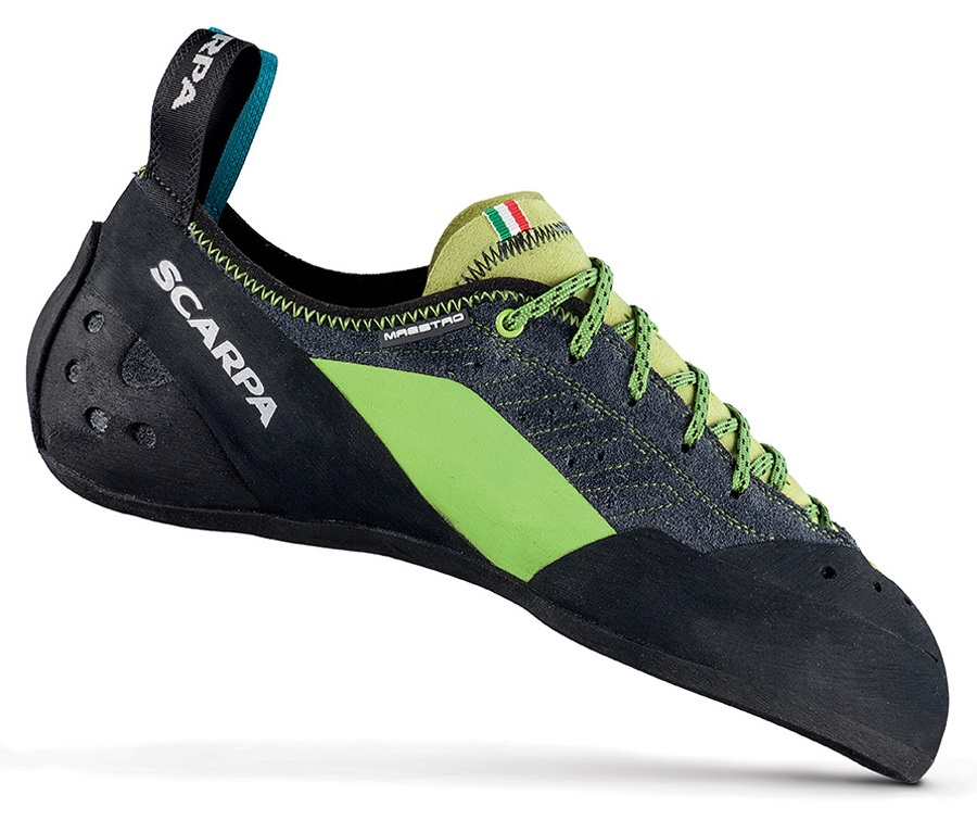 Scarpa Maestro Rock Climbing Shoe: UK 10.5 | EU 45, Ink