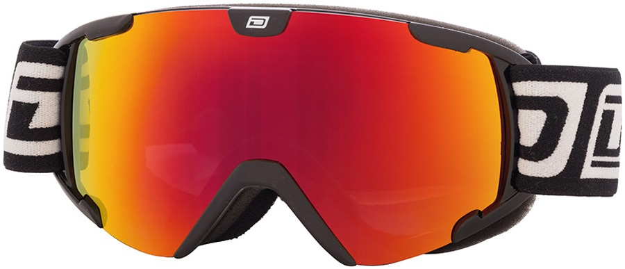 Dirty Dog Stampede Junior Red Fusion Snowboard/Ski Goggles, S Black