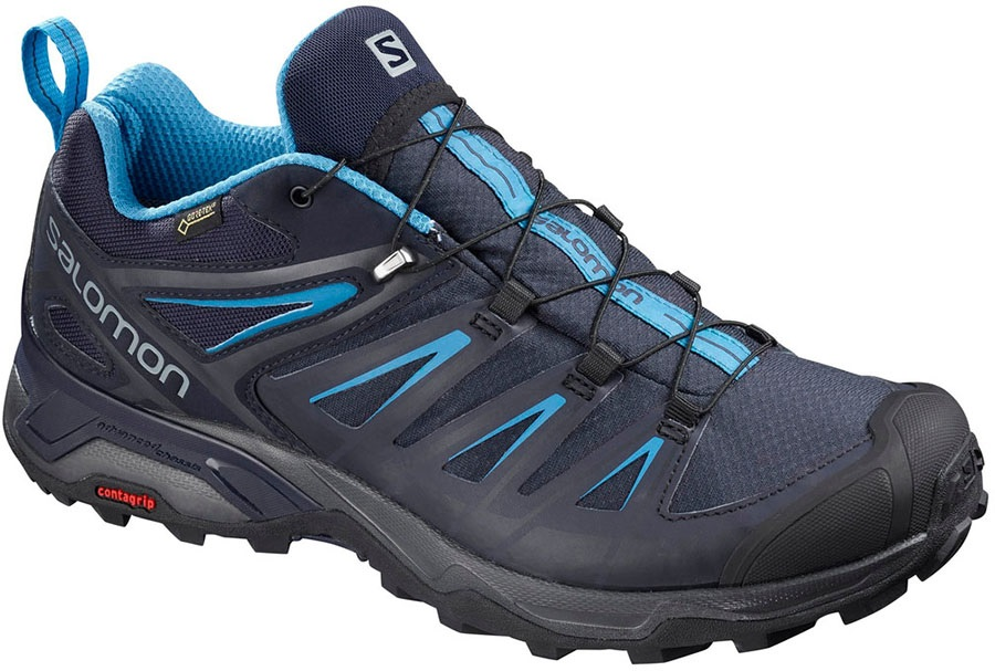 Salomon X ULTRA 3 GTX Walking Shoes, UK 10 Night Sky/Hawaii