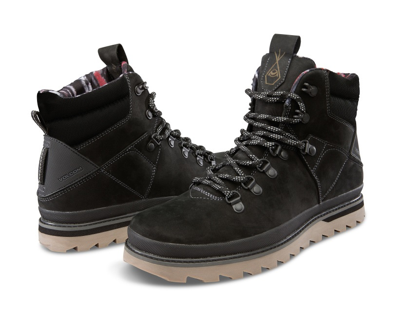 Volcom Outlander Men's Winter Boots, UK 7.5 New Black
