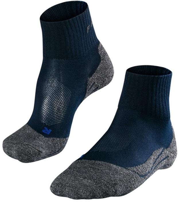 Falke TK2 Short Cool Men's Hiking/Walking Socks UK 8-9 Marine