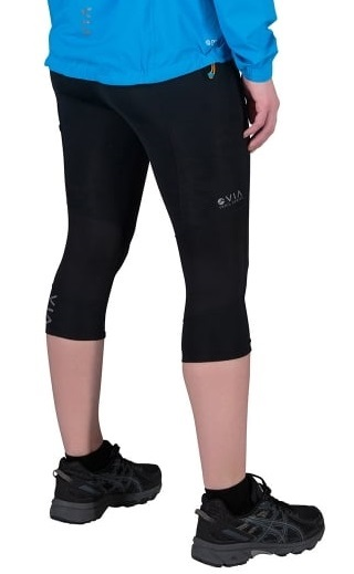 b021112c417a4 Montane Women's Trail Series 3/4 Trail Running Tights, UK 12 Black. Zoom