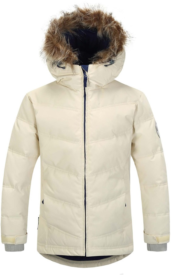 95680f975 Skogstad Gronstad Kids Down Insulated Jacket, Age 10 Off White
