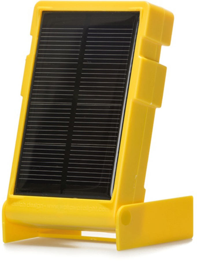 Waka Waka Light Classic Solar Powered LED Torch, Yellow