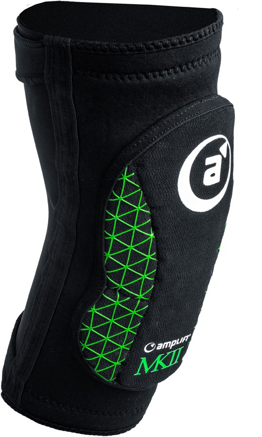 Amplifi MK II Slip On Ski/Snowboard Elbow Pads, L Black