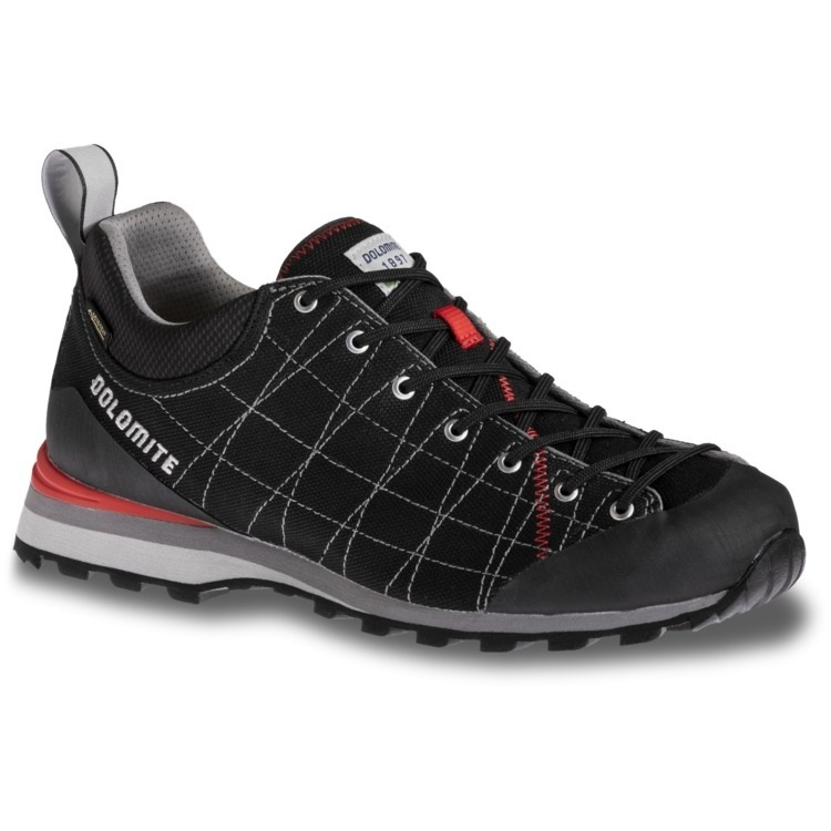 Dolomite Mens Diagonal Lite Approach Shoe, UK 7 Fiery Red