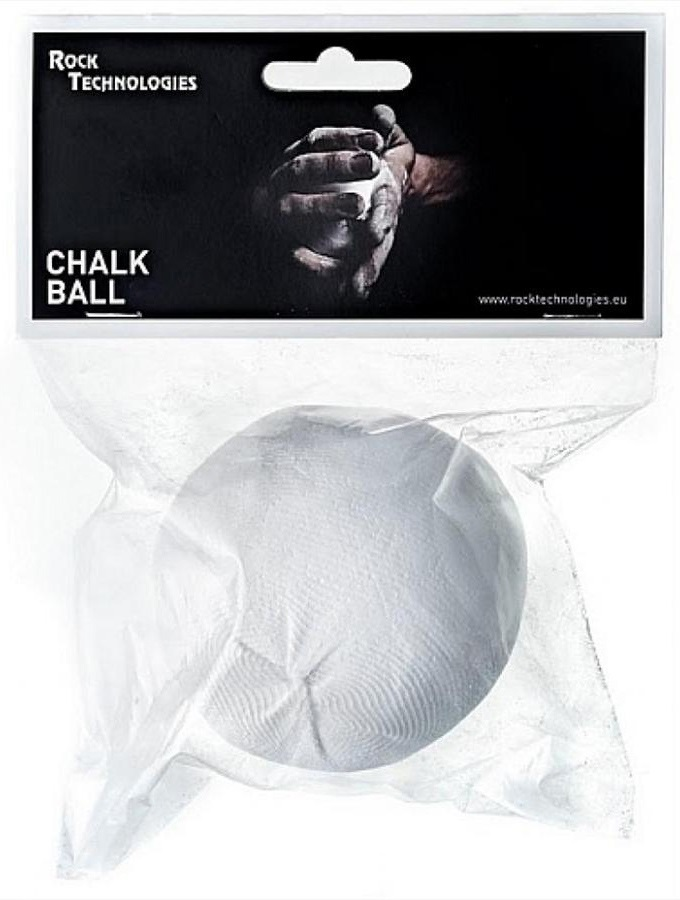 Rock Technologies Chalkball Rock Climbing Chalk Ball 60g White