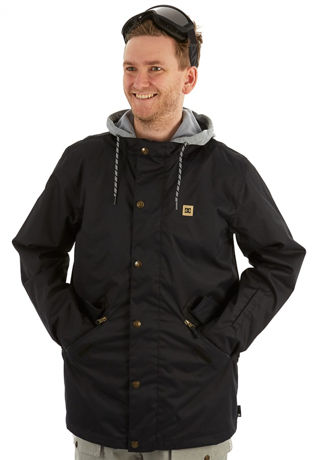 DC Union Ski/Snowboard Jacket, S Black