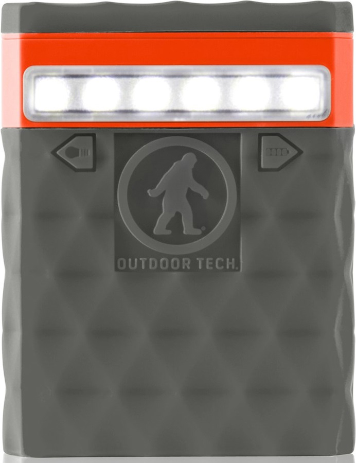 Outdoor Tech Kodiak 2.0 Portable Battery Pack & Charger, 6000 MAh Grey