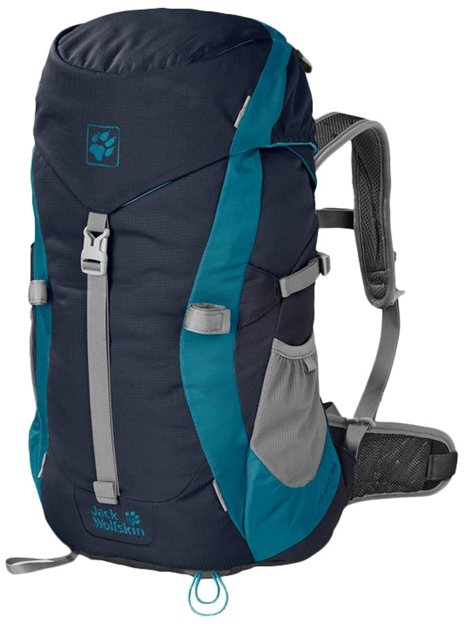 Jack Wolfskin Kids Alpine Trail Kid's Backpack: 20L, Midnight Blue