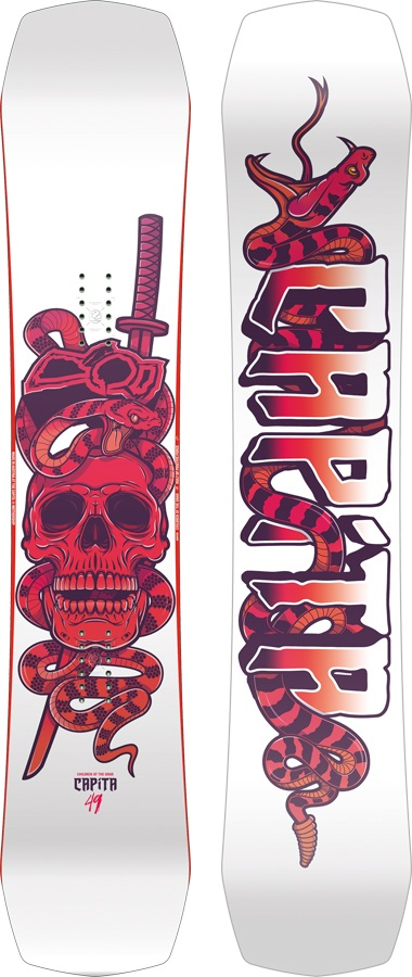 Capita Children Of The Gnar Youths Hybrid Camber Snowboard, 149cm 2018