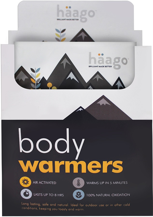 Haago Disposable Body Warmer, 20 Patches
