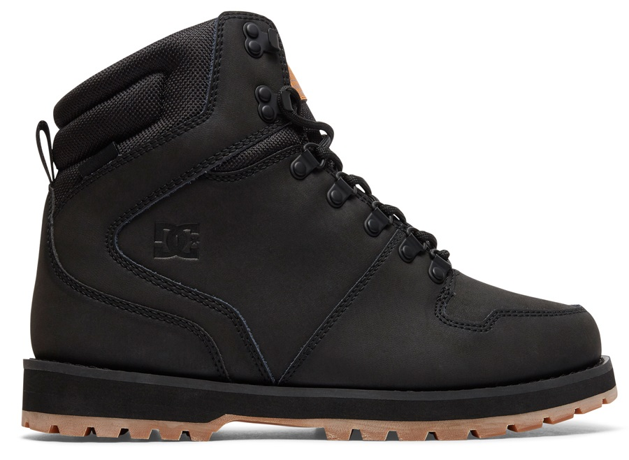 DC Peary Men's Winter Boots, UK 5 Black/Gum