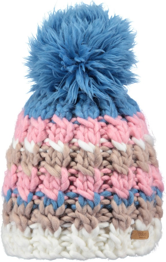 Barts Women s Feather Ski Snowboard Beanie Bobble Hat 341c376cdbc5