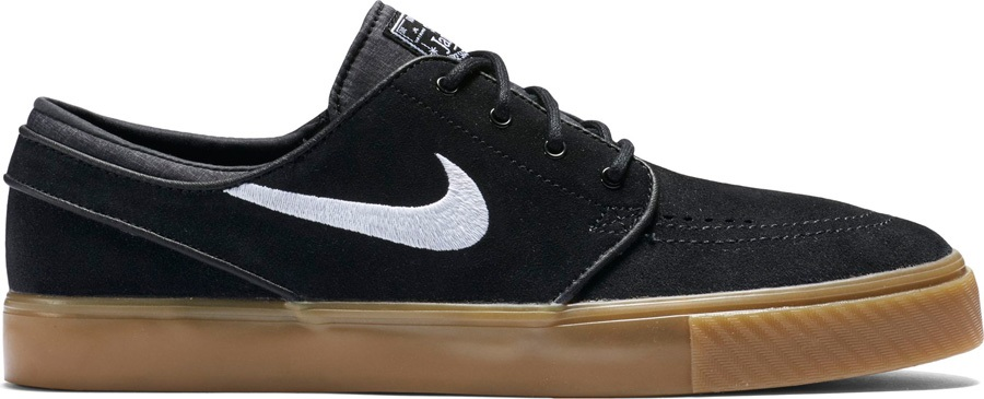 8a8f5af53c Nike SB Zoom Stefan Janoski Skate Shoes UK 9.5 Black White Gum