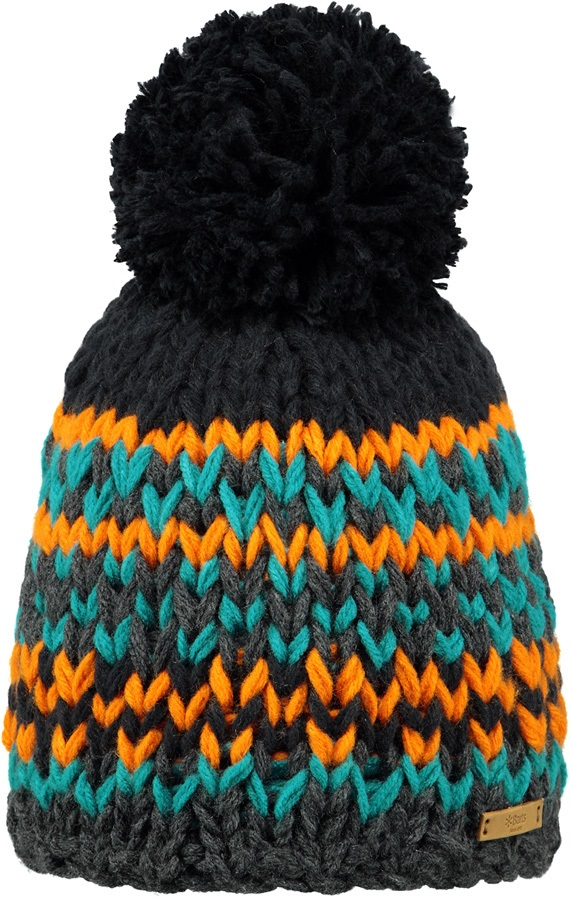 Barts Jubba Ski/Snowboard Beanie Bobble Hat, One Size Dark Heather
