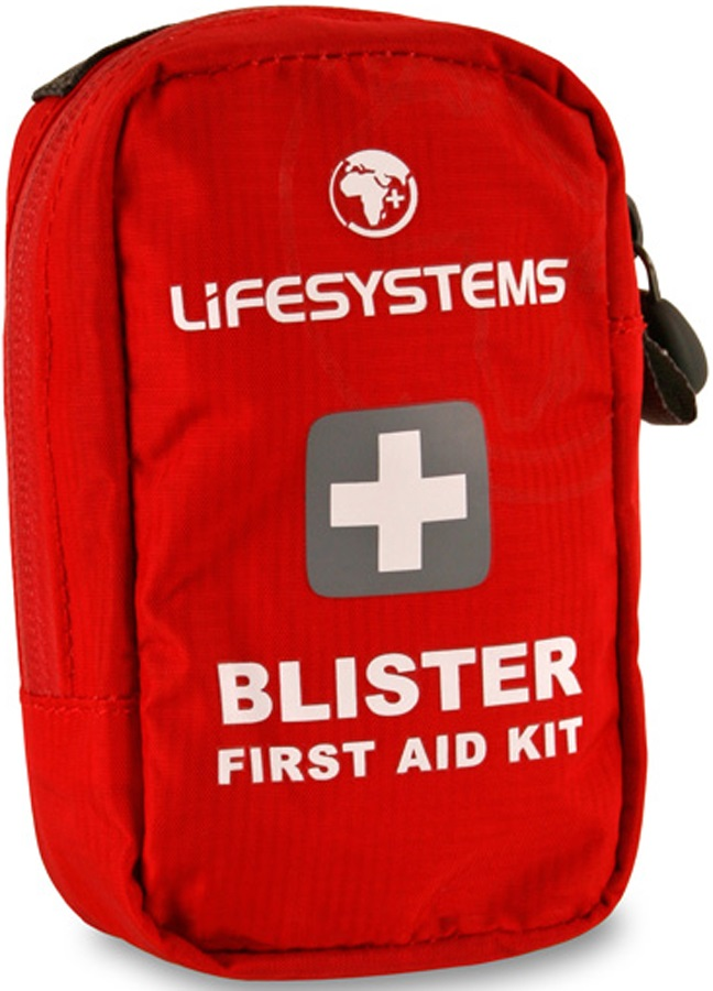 Lifesystems Blister Portable First Aid Kit 9 Items Red
