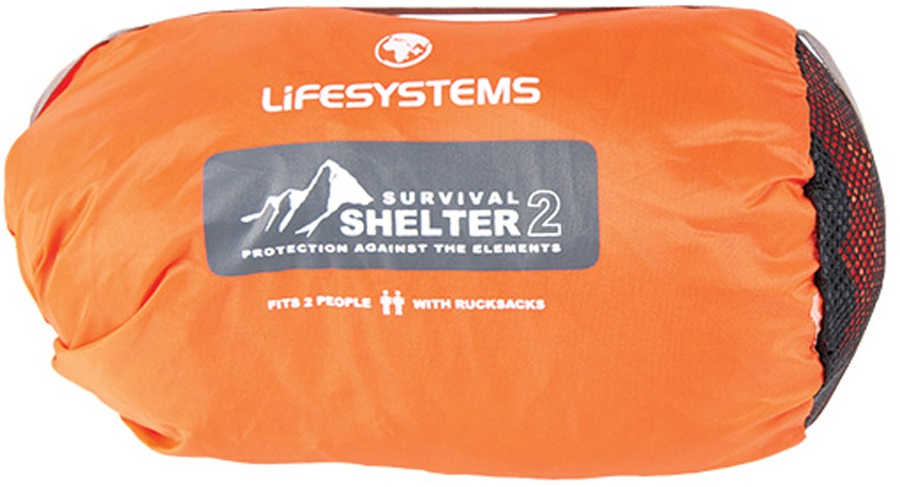 Lifesystems Survival Shelter Emergency Protection 2-3 Man Orange
