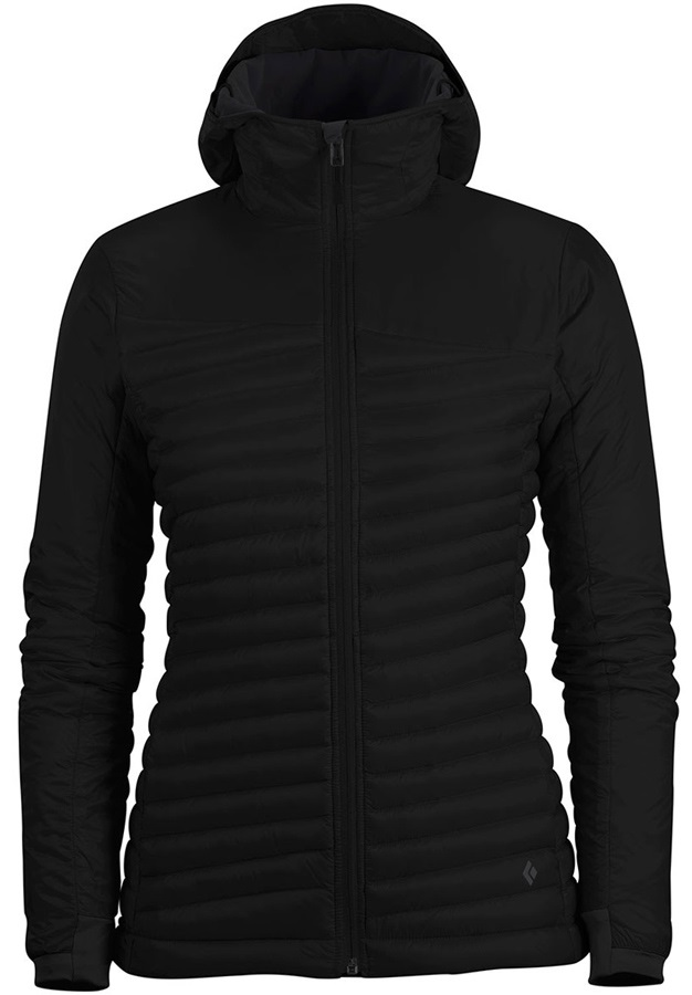Black Diamond Hot Forge Hoody Women's Insulated Jacket, XL, Black