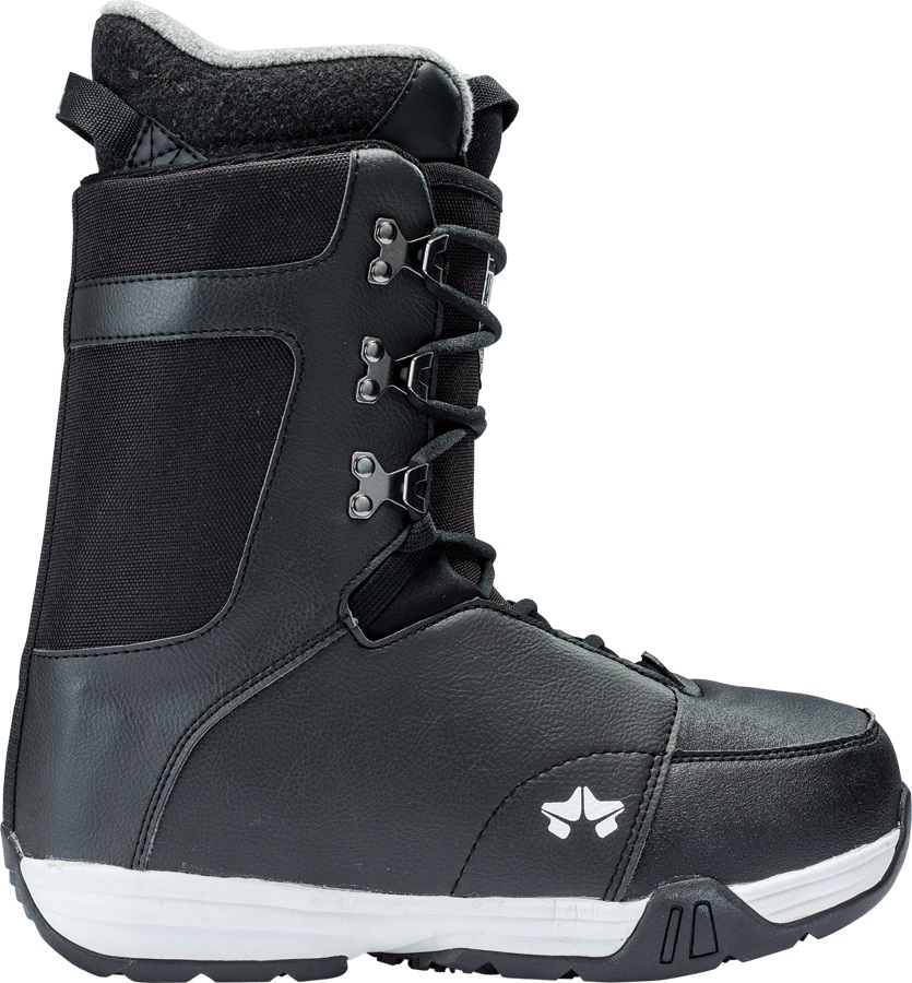 Rome Sentry Snowboard Boots, UK 11.5 Black 2018