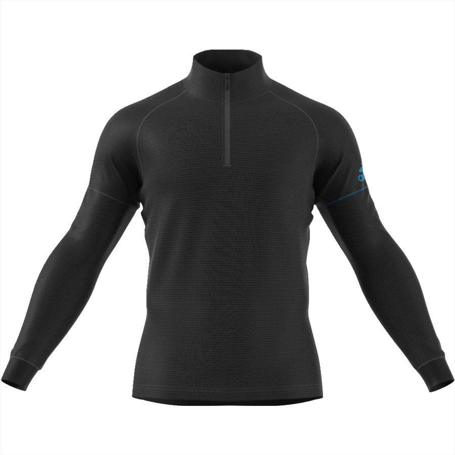 Adidas Terrex Xperior Active Top Half-Zip Midlayer, S Black