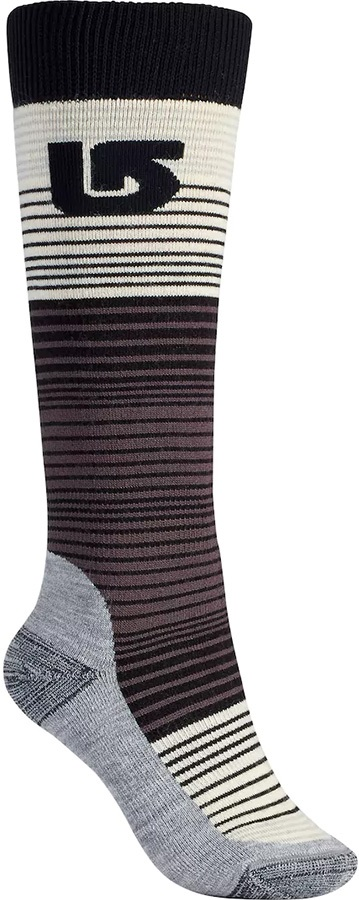 Burton Scout Women's Snowboard/Ski Socks M\L True Black