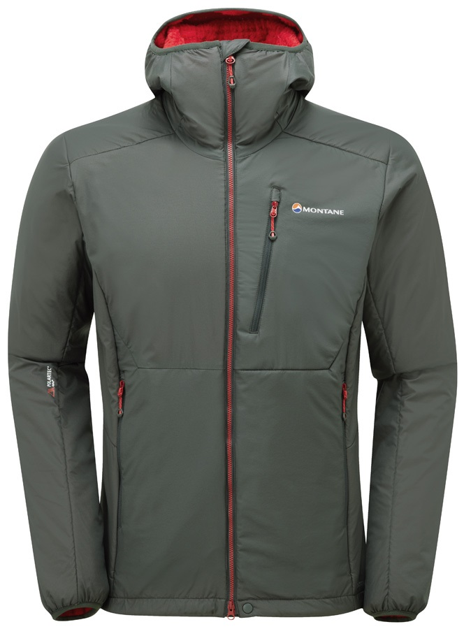 Montane Hydrogen Men's Hooded Insulated Jacket, S Shadow