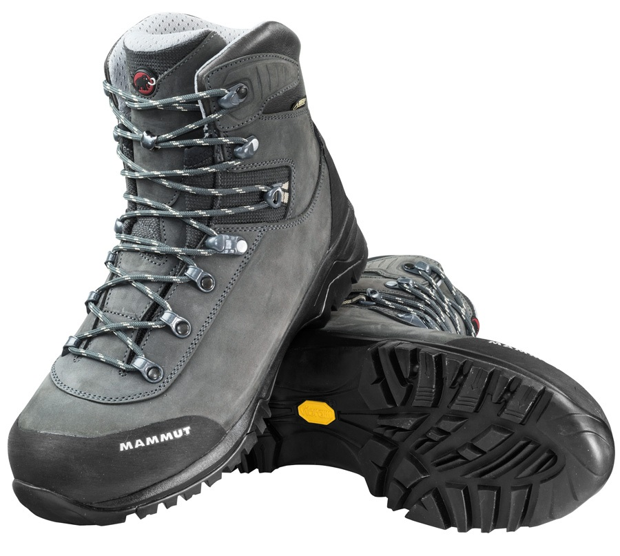 Mammut Trovat Advanced High GTX® Men's Hiking Boots, UK 7 Grey