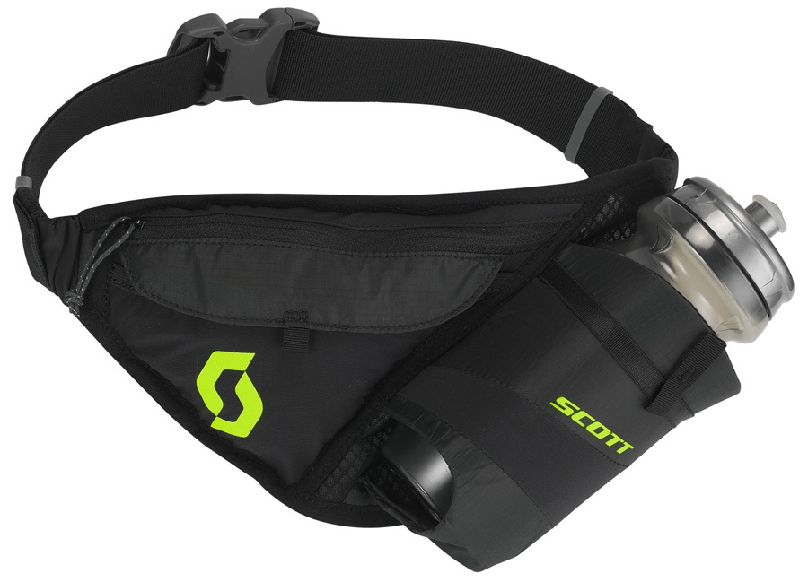 Scott Trail TR' Belt Running Belt, 1.5L Caviar Black/Sulphur Yellow